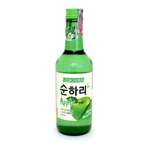 Rượu Soju Táo Chum Churum 360ml