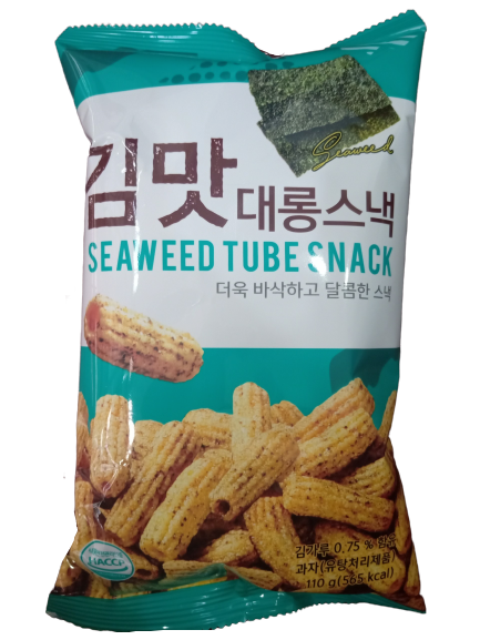 Snack nui vị rong biển Donghwa 110g