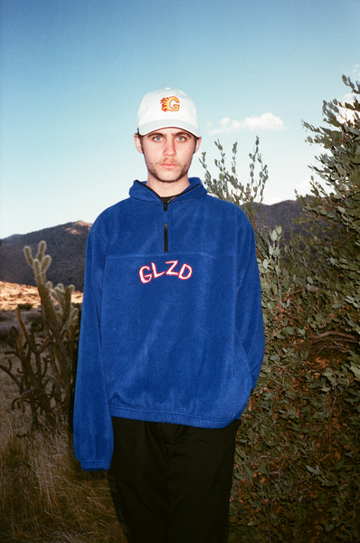 GLZD HALF ZIP (ROYAL BLUE)