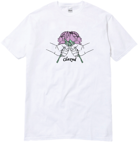 BOUQUET T-SHIRT (WHITE)