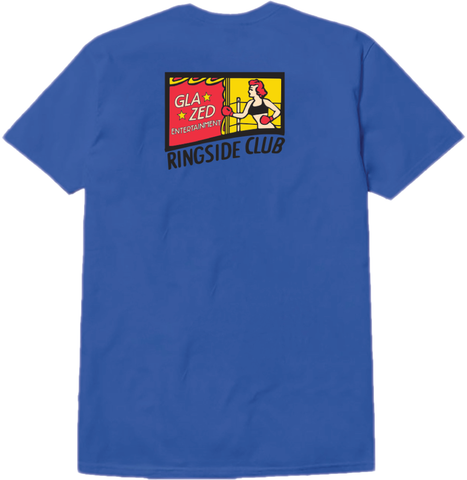 BOXING T-SHIRT (ROYAL BLUE)