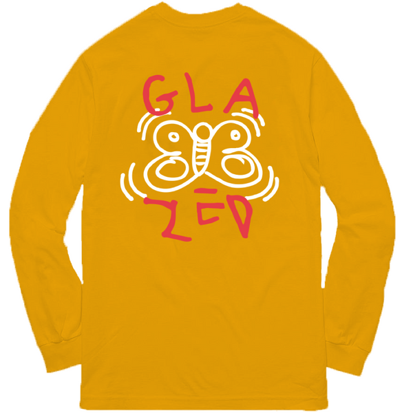 BUTTERFLY LONG SLEEVE (GOLD)