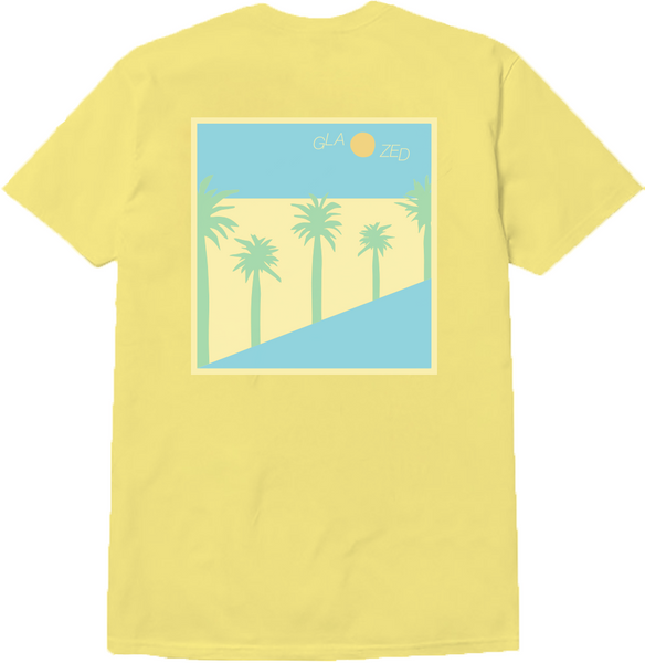 BEACH T-SHIRT (LIGHT YELLOW)