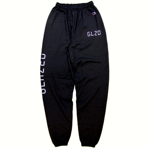 DIGI GLOW CHAMPION® SWEATPANTS (BLACK)