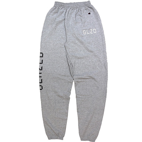DIGI GLOW CHAMPION® SWEATPANTS (HEATHER GREY)