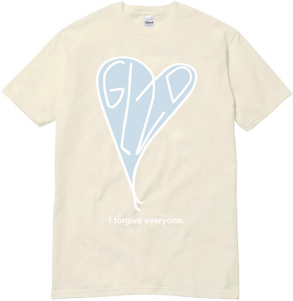 FORGIVE T-SHIRT (CREAM)
