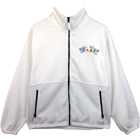 GLZD FULL ZIP JACKET (CREAM)