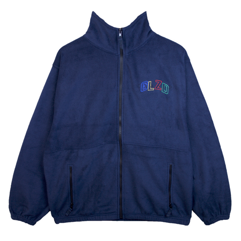 GLZD FULL ZIP JACKET (NAVY)