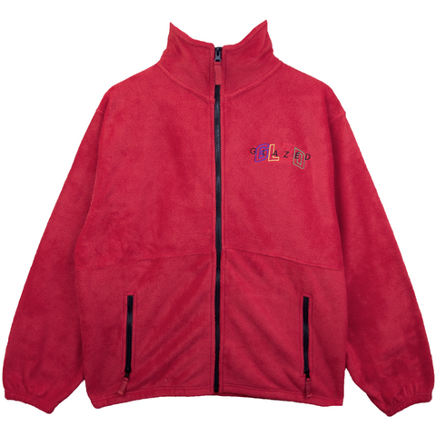 GLZD FULL ZIP JACKET (RED)