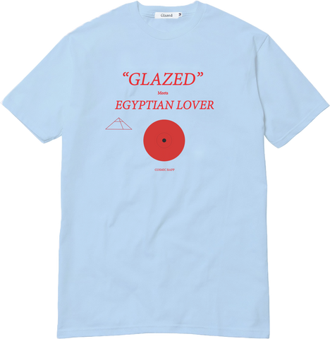 EGYPTIAN LOVER T-SHIRT (LIGHT BLUE)
