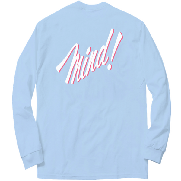 MIND LONG SLEEVE (LIGHT BLUE)