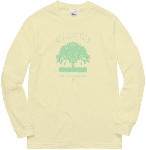 PARKS & RECREATION LONG SLEEVE (CREAM)