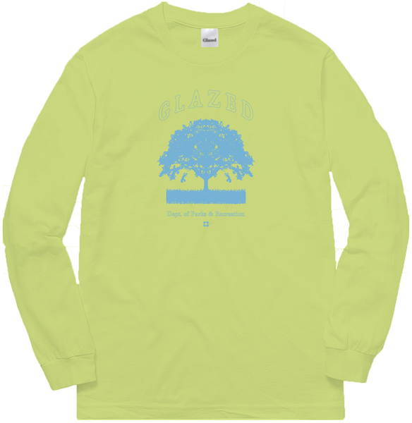 PARKS & RECREATION LONG SLEEVE (LIME)