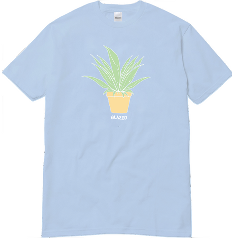 PLANT T-SHIRT (LIGHT BLUE)