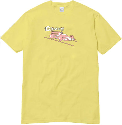 RACE TEAM T-SHIRT (LIGHT YELLOW)