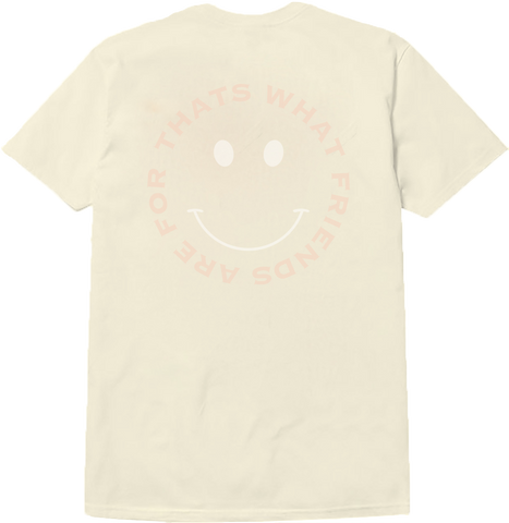 SMILE T-SHIRT (CREAM)