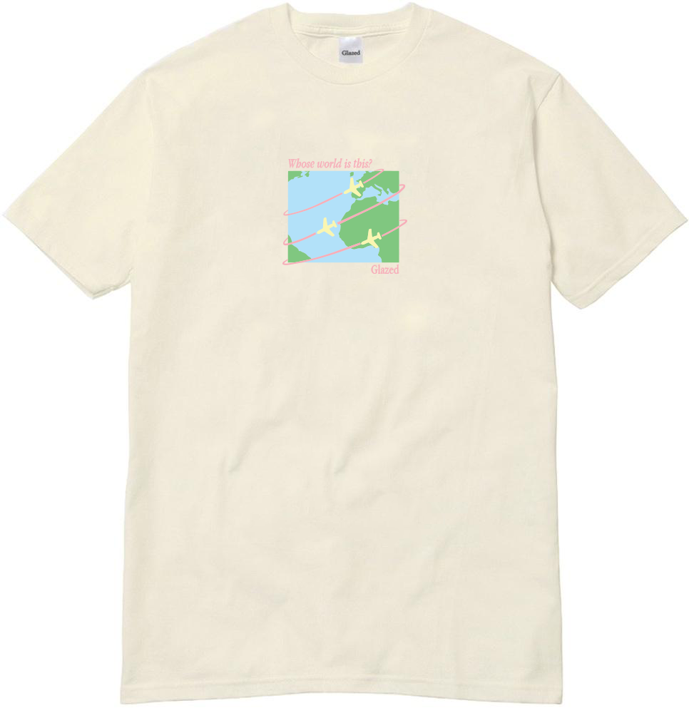 WORLD T-SHIRT (CREAM)