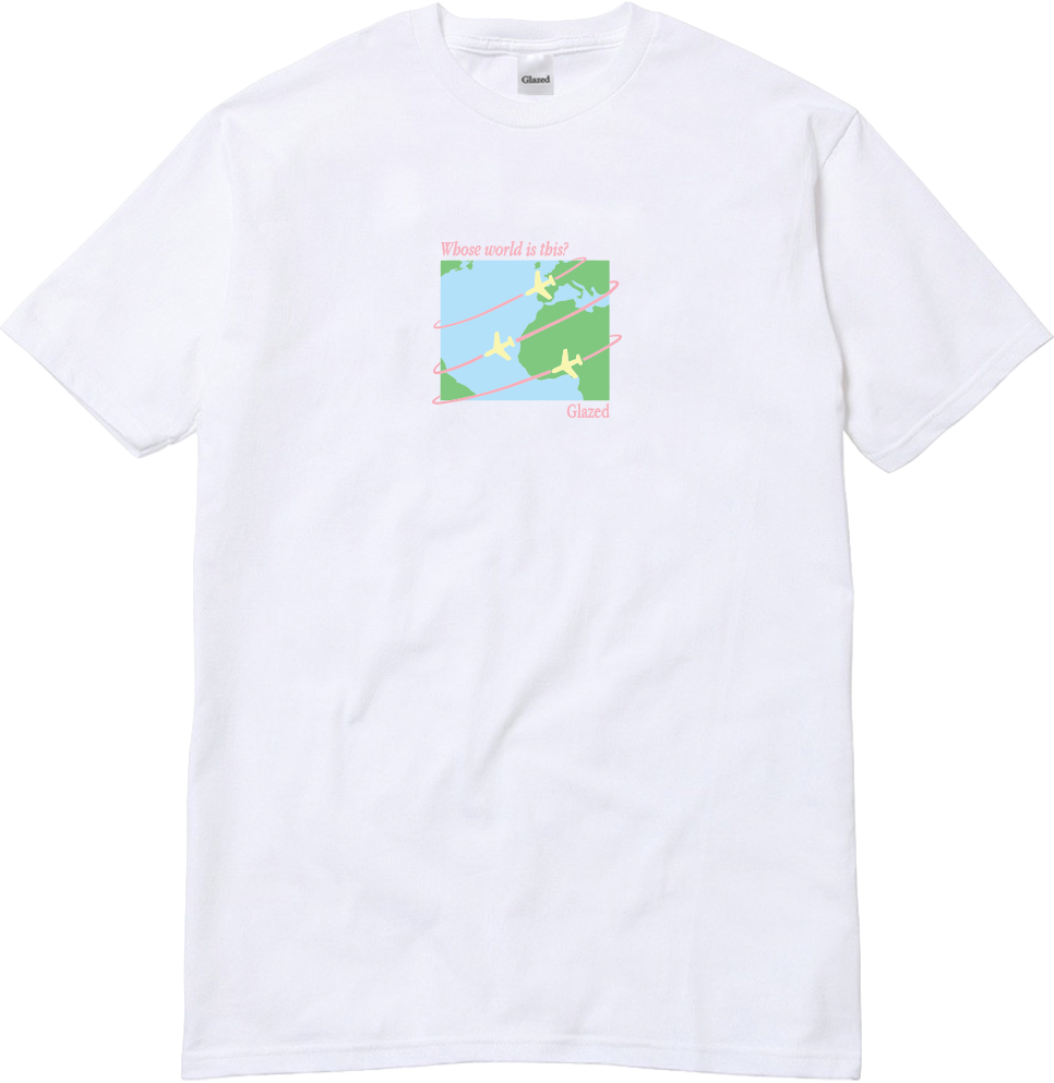 WORLD T-SHIRT (WHITE)