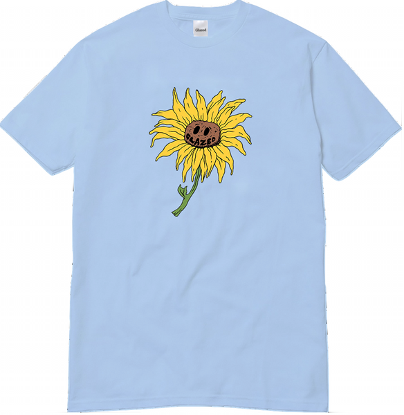 SOUL FLOWER T-SHIRT (LIGHT BLUE)
