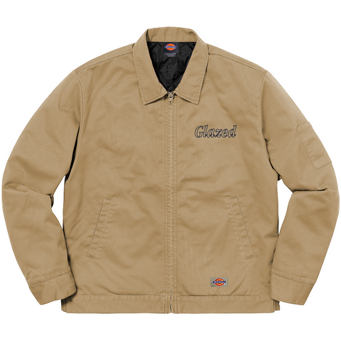 CUPID DICKIES® WORK JACKET (KHAKI)