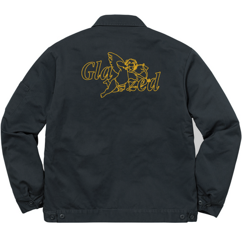 CUPID DICKIES® WORK JACKET (NAVY)