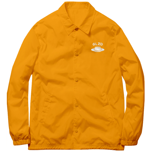 FLAN X GLAZED COACHES JACKET (GOLD)