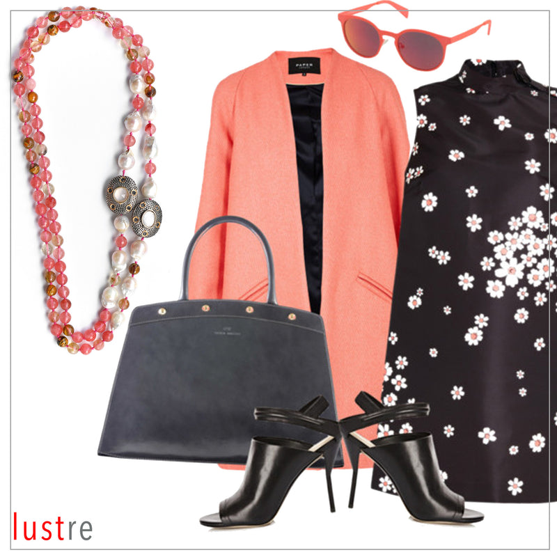 STYLE GUIDE - CORAL & BLACK