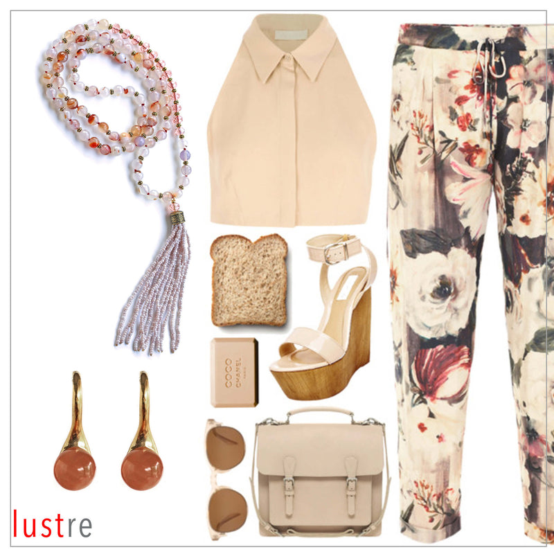 STYLE GUIDE - NEUTRAL FLORAL
