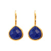 Earrings - Lapis Lazuli Teardrops