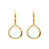 Earrings - Moonstone Teardrops