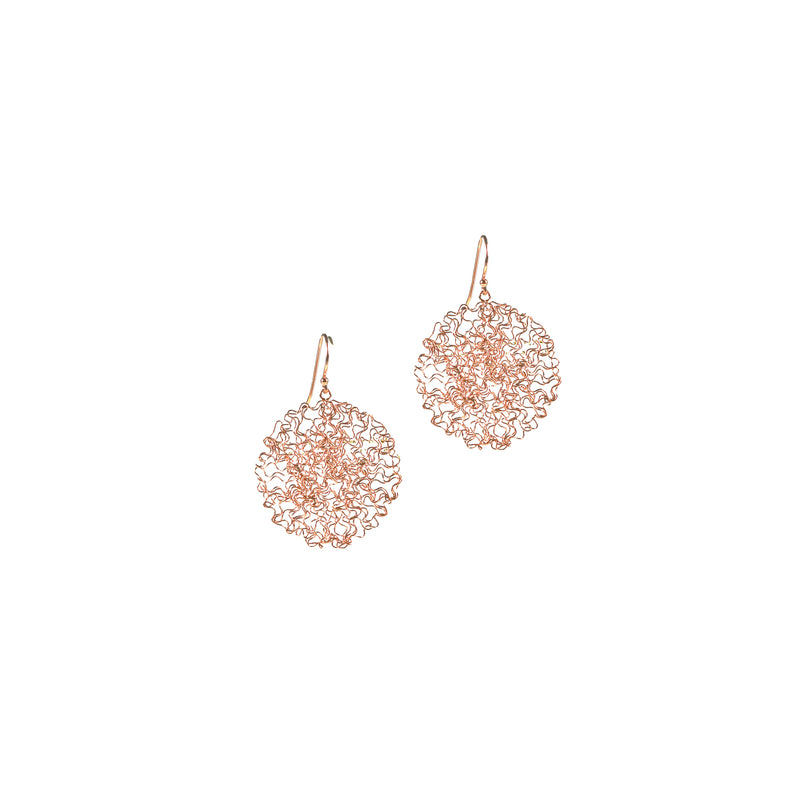 Earrings - Happy Drops Rose Gold Small