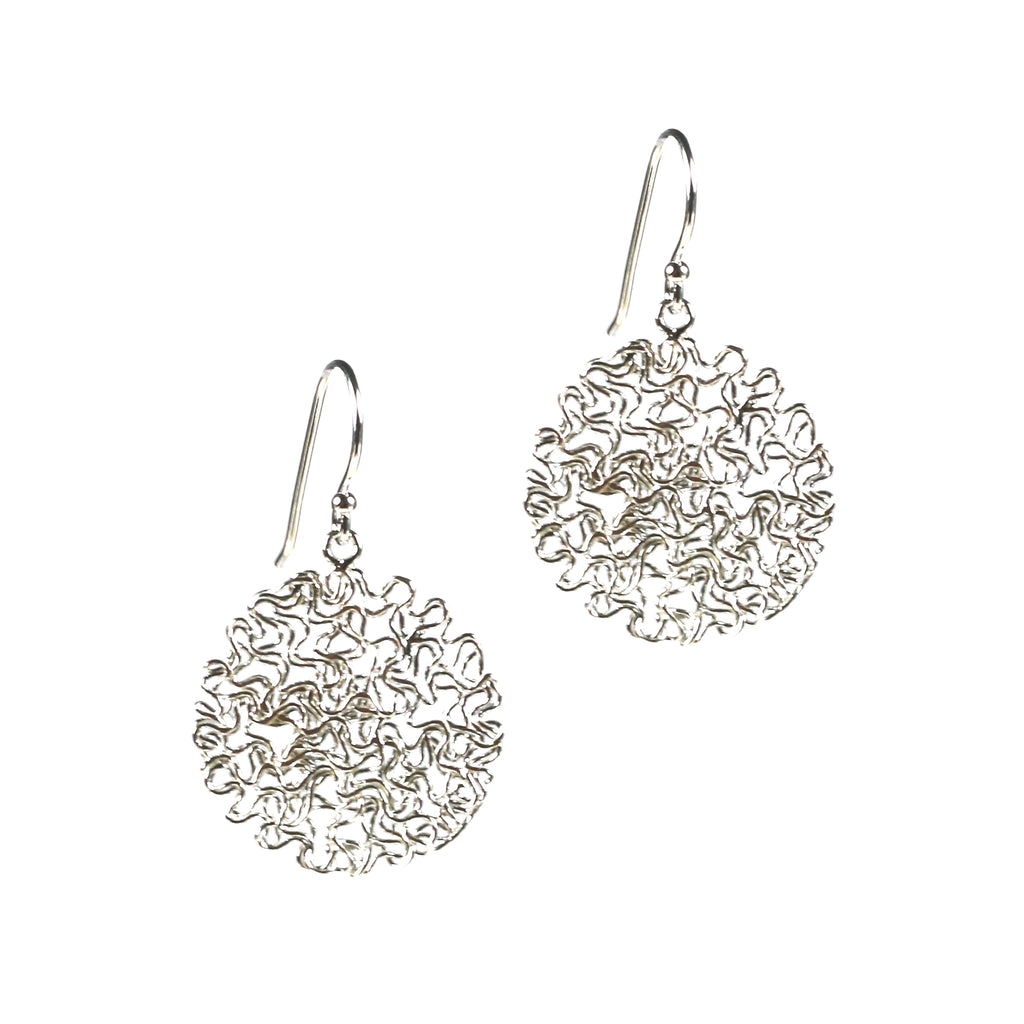 Earrings - Happy Drops Silver Medium