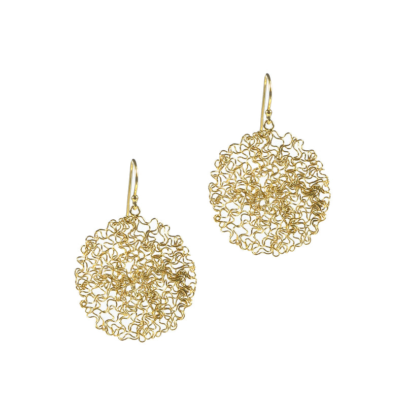 Earrings - Happy Drops Yellow Gold Medium