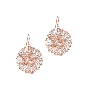Earrings - Happy Drops Rose Gold Medium
