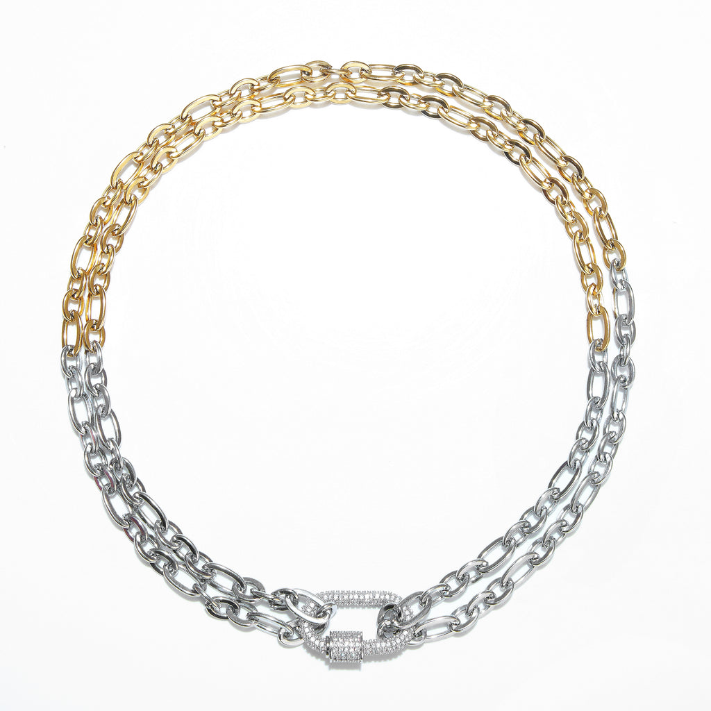 Necklace - Eternal Link with Silver Clasp