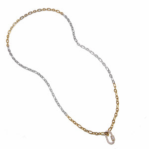 Necklace - Eternal Link with Gold Clasp