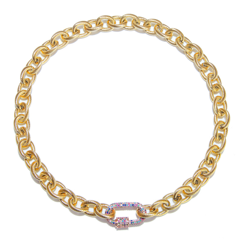Necklace - DNA Gold with Multi clasp