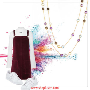Necklace - Fiesta Station Mini