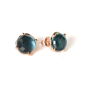 Earrings - Hematite Studs