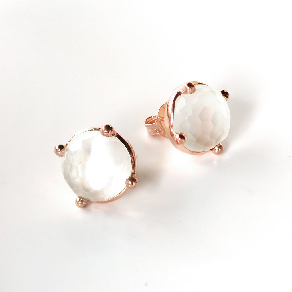 Earrings - Mother of Pearl Studs