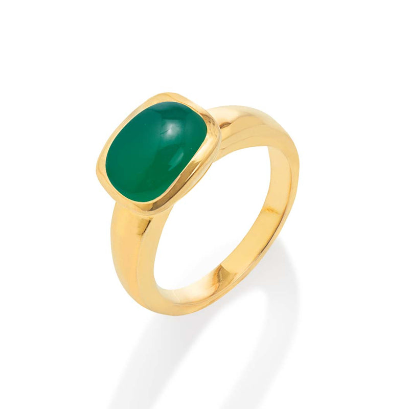 Ring - Jellybabies Green Onyx