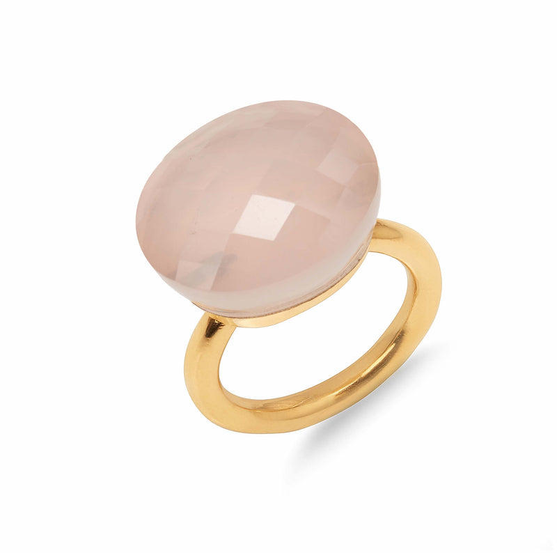 Ring - Jujube - Rose Quartz