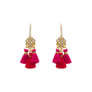 Earrings - Mini Tassel - Lovers in Japan
