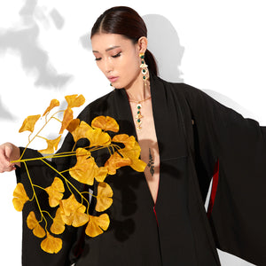 Earring - Gingko Leaf Chandelier