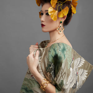 Earring - Gingko Leaf Flower