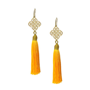 Earrings - Maxi Tassel - Sunshine
