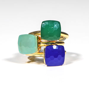 Ring - Naked Green Onyx