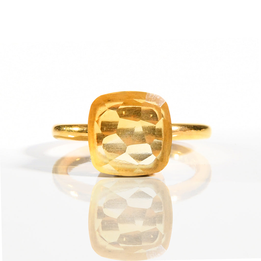 Ring - Naked Citrine