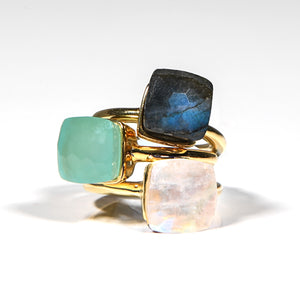 Ring - Naked Moonstone
