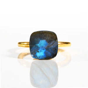 Ring - Naked Labradorite